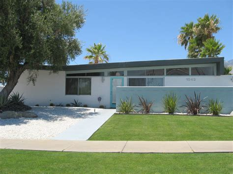 mid century palm springs homes for sale