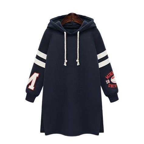 letter hoodie dress xl 5xl sport hoodies hooded letter print striped