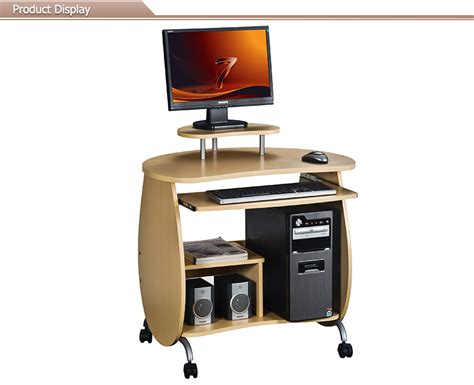 small desktop computer desk small compact desktop computer table with wheels view