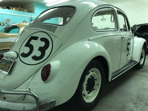volkswagen beetle classic herbie 1966 volkswagen beetle herbie the love bug