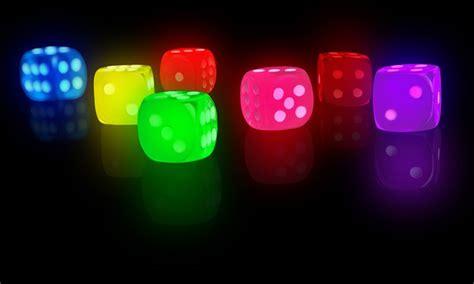 light up set set of seven led light up dice groupon goods