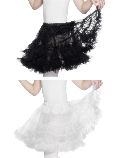 Kaos Kaki Tutu Ruffle Import childs petticoat fancy dress accessory underskirt tutu ruffle skirt ebay
