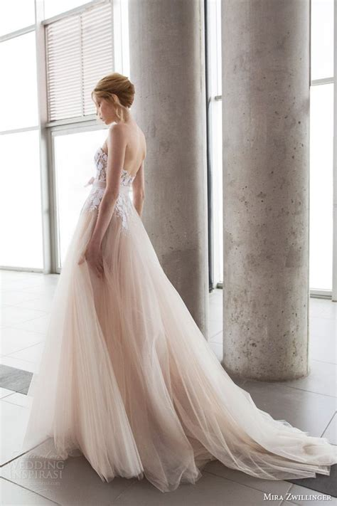 Dress White Tulle Flow mira zwillinger 2016 wedding dresses stardust bridal collection tulle wedding dresses the