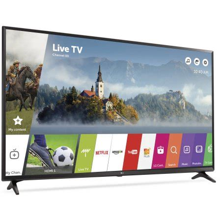 Led Tv Lg 65 Smart Tv Uhd 4k Webos 3 5 Flat 65uh652t Promo lg 65 quot class 4k 2160p ultra hd smart led tv 65uj6300 walmart