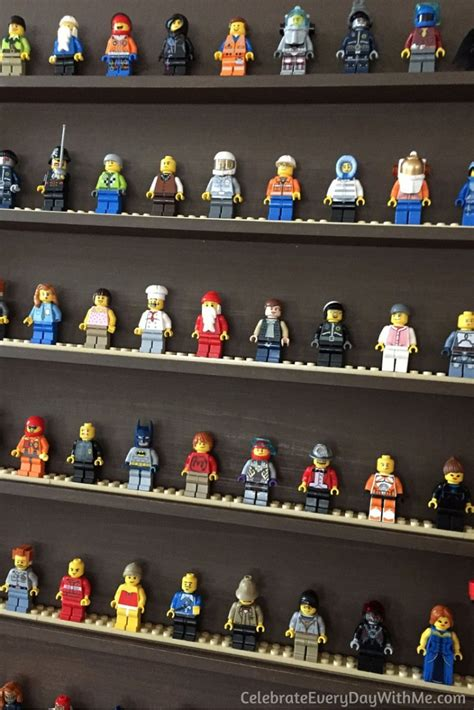 Jual Rak Display Figure how to make a lego mini figure display celebrate every day with me