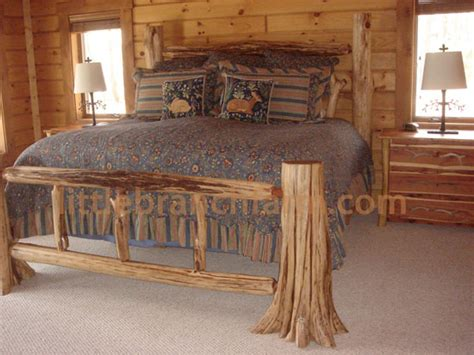 king size log bed rustic log beds twisted juniper beds