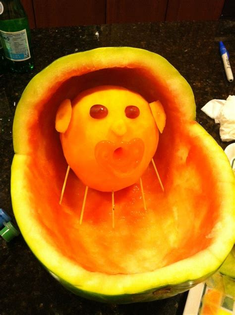 Watermelon Carving Baby Shower by Carved Watermelon Baskets Leave A Reply Cancel Reply