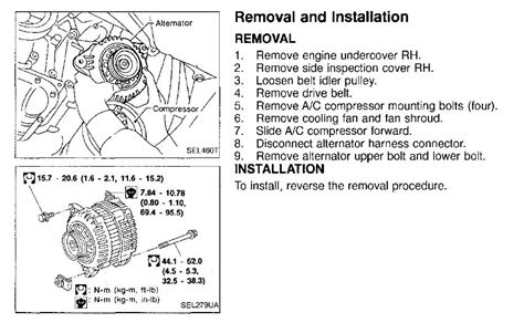 nissan maxima alternator location nissan get free image about wiring diagram