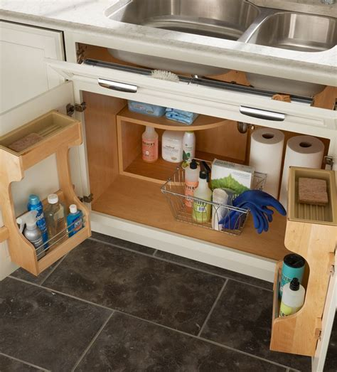 kitchen under sink storage sink base door storage kitchens contemporary dynamic