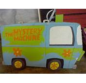 The Mystery Machine Cardboard Cutout By Wolfgirl501 On