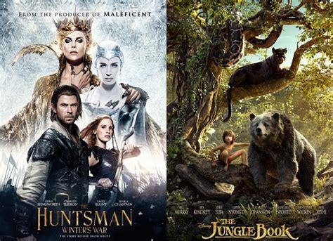 of a huntsman books huntsman winter s war fails to beat jungle book by