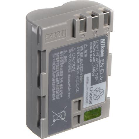 Battery Nikon En El3e 1 nikon en el3e rechargeable lithium ion battery 1410mah 25334