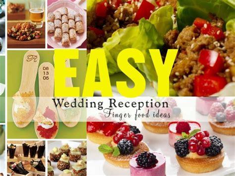 diy wedding reception finger foods diy do it your self