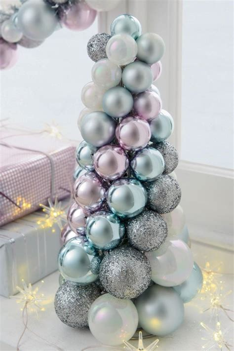 bauble tree christmas pinterest