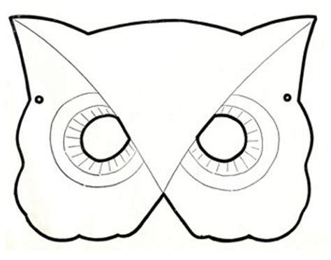 owl mask cub scouts pinterest