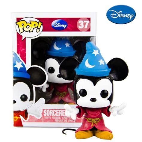 Funko Pop Mickey Mouse free shipping new 2014 genuine funko pop magic mickey mouse doll doll in figures