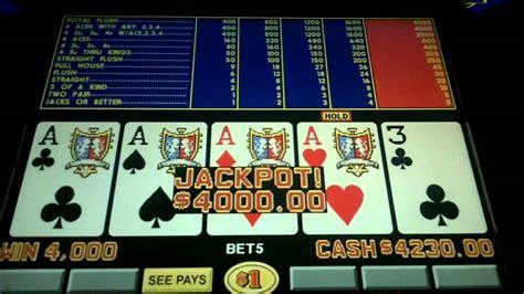 game king tripledoublebonus video poker jackpot  mirage las vegas youtube