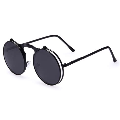 Kacamata Sunglass Futurist Hitam 4 aofly kacamata hitam vintage steunk sunglasses