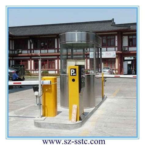 automatic electronic parking barrier remote