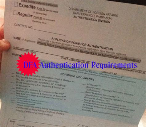Nso Marriage Records List Dfa Authentication Of Documents Requirements Dfa San Fernando Panga