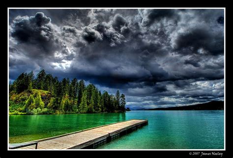 Flathead Moon Flickr by In The Storms Flathead Lake Montana And