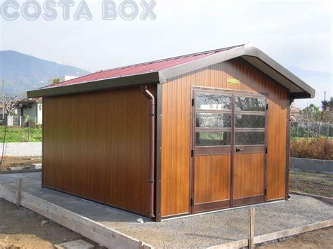 tettoie coibentate prezzi box coibentato colore legno costabox