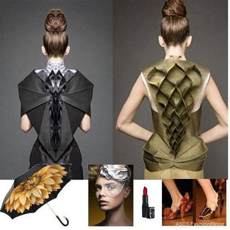 Origami In Fashion - origami fashion origami