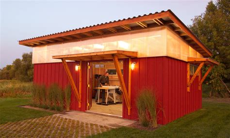 Outdoor Workshop Shed by Diy Shed Modern Exterior Minneapolis By M Valdes