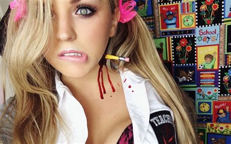 naughty halloween costume with a special twist