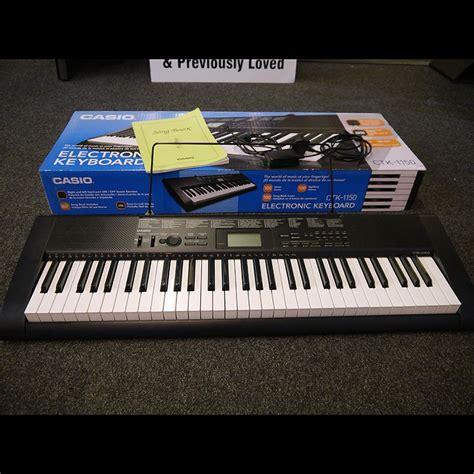 Keyboard Casio Second Casio Ctk 1150 Electronic Keyboard W Box 2nd Rich Tone