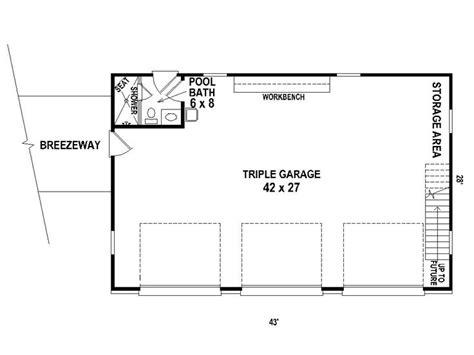 garage door floor plan detached 3 car garage plan features country styling a 10