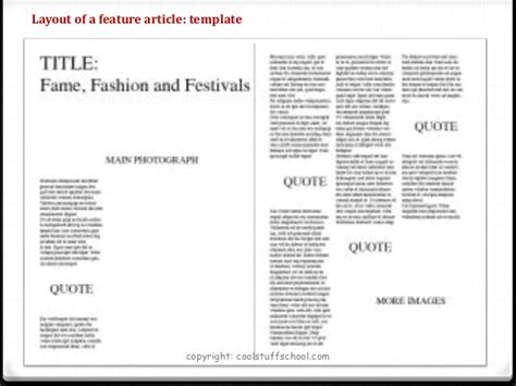 feature article template for students top tips for quot how to quot write a feature article