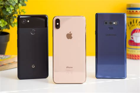 iphone xs max vs galaxy note 9 pixel 2 xl comparison which phone takes the best photos