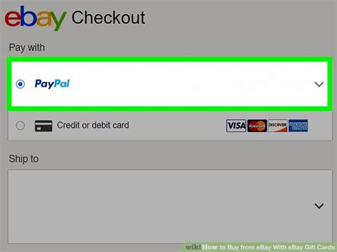How To Use Gift Card On Ebay - how to buy from ebay with ebay gift cards 13 steps
