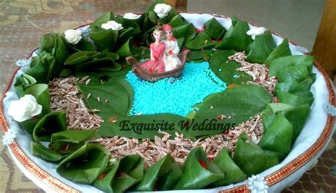 betel leaf decoration   Bangladeshi Wedding Dala