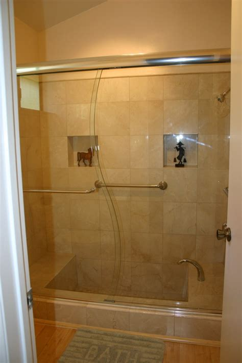 Custom Glass Shower Door by Glass Shower Doors Enclosures Community Glass Mirror