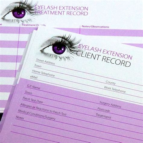 25 Best Ideas About Eyelash Extensions Salons On Pinterest Eyelash Extension Consultation Form Template