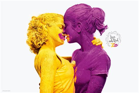color ad is colorful paint ads show that comes in all