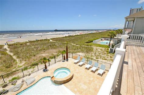 North Myrtle Beach South Carolina Usa 8 Bedroom Myrtle House Rentals Oceanfront With Pool