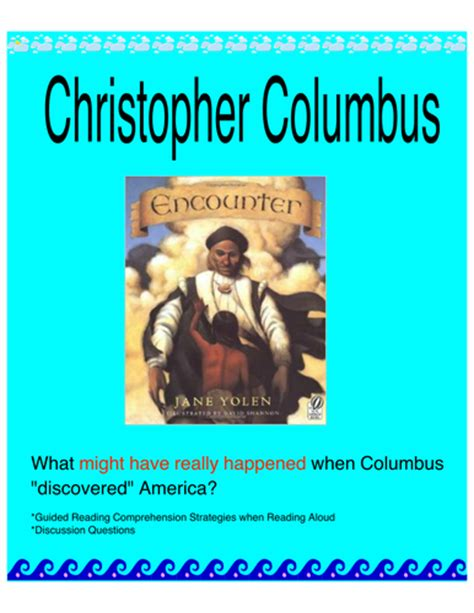 christopher columbus biography and life story christopher columbus story by sbradnick teaching