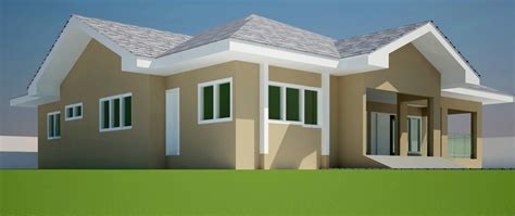 4 room house house plans ghana mandata 4 bedroom house plan