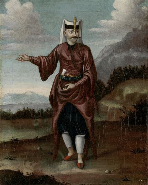 janissaries ottoman a soldier of the janissaries painting by jean baptiste vanmour