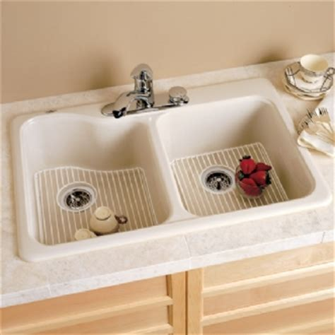 silhouette 33 double bowl kitchen sink american standard silhouette 33 quot shallow double bowl