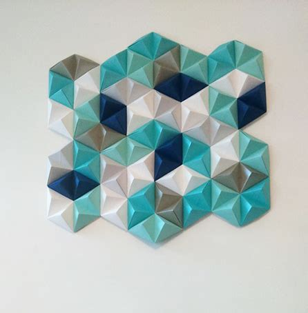 geometric pattern wall canvas diy geometric paper wall art jam blog