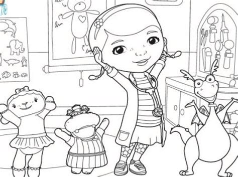 disney coloring pages doc mcstuffins doc mcstuffins coloring page disney family 14095