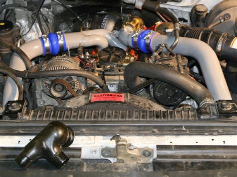 Fuel System Upgrade 1997 Powerstroke Banks Techni Cooler 174 Intercooler System For 1994 1997 Ford