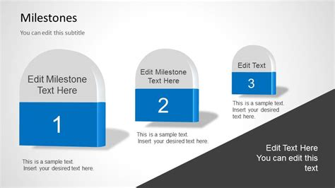 powerpoint milestone template milestones template for