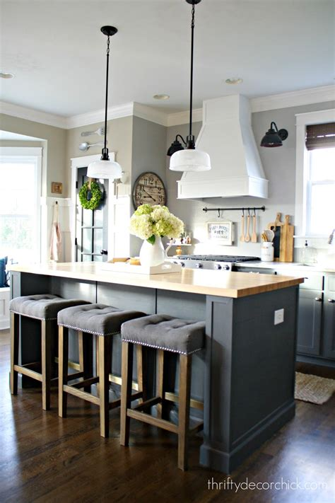 kitchen island decor the kitchen renovation budget and how i saved from thrifty decor