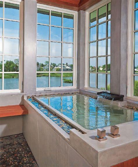 20 beautiful bathroom designs with infinity bathtubs
