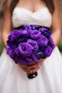 purple wedding bouquets purple wedding flowers planning project wedding forums